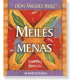 MEILĖS MENAS. Toltekų išmintis. 48 kortų malka. Don Miguel Ruiz 5